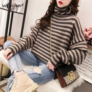 Women Knitted Turtleneck Sweater And Pullovers Korean Fashion Style Solid Jumper Sweaters Winter And Autumn 2019 New Tops