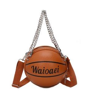Fahsion Mini Basketball-Form-Beutel-Frauen-Handtasche 2020 neue Qualitäts-PU-Leder-Handtasche Weibliche Umhängetaschen