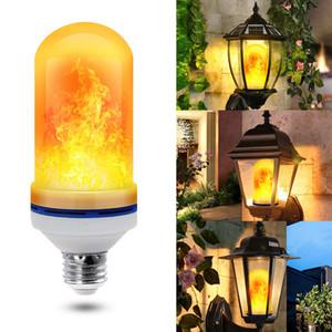 7W E27 E26 Alev Ampul Alev Lambası Yangın Ampuller Titrek Emülasyon Atmosfer Dekoratif Lamba Duvar lambası LED