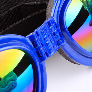 Собака солнцезащитные очки складной Pet собака очки складной Pet очки Мода аксессуары для домашних животных поставки 6 цветов Оптовая продажа WZW-YW3655