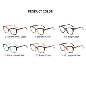 Wholesale- Frame Optical Glasses High Quality Carved Eyeglasses Women Optical Glasses Frame Acetate Temple os004