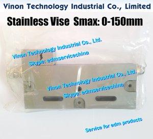 VISE-150 Точность нержавеющей тиски Макс Открыт: 0-150mm (210Lx125Hx28W), провод-ЭДМ тиски, прецизионные тиски 150 мм из нержавеющей диапазона для проволочной электроэрозионной