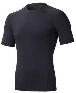 2019 men's tight clothes running short-sleeved quick-drying T-shirt 316
