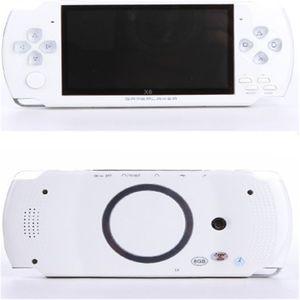 حار بيع 32 بت 4.3 بوصة HD 8G مع سماعة X6 Classic Game console FC SFC GBA NES أجهزة الألعاب المحمولة Protable Vibration feedback