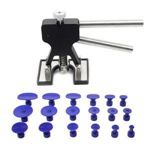 Car Repair Tools Kit Dent Lifter Repair Tool Kit Pops Dent puller for Car Hail Damage and Removal Gold Hand Tools