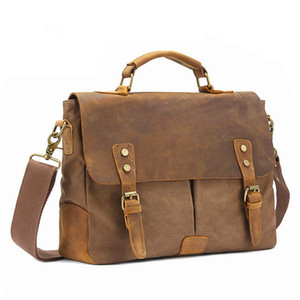 Viagem de Moda de Nova Outdoor Saco portátil Canvas Messenger Bag Tendência de Grande Capacidade Casual Shoulder Bag Dropshipping