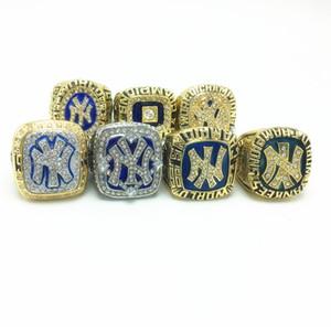 Regalo Fan all'ingrosso 1999 New York Yankee Rivera Baseball NYY Campionato Anelli Souvenir Gioielli