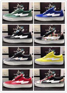 2020 Yeni Ucuz İndirim Üst İntikamı X Fırtına Old Skool Tasarımcı Cavnas Günlük Ayakkabılar Kadın Erkek Low Cut Kırmızı Mavi Beyaz Siyah Moda Ayakkabılar