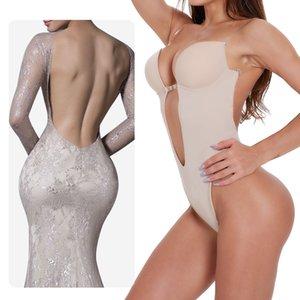 Waist trainer women shaper slimming underwear garment body tummy control trainer bodysuit control panties lingerie cincher