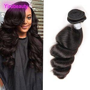 Brazilian Malaysian Indian Peruvian Human Hair 1 pieces lot Loose Wave Hair Exensions one Bundle 8-28 Inch Virgin Hair Loose Wave
