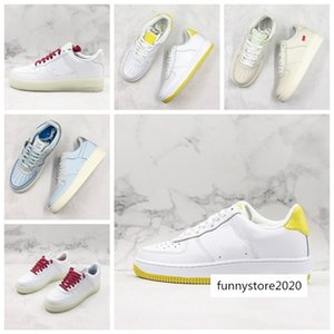 2019 new OG x forceing 1 Low 07 White Classic University Mans Womens Fashion Casual Shoes