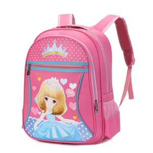 Charm2019 1- Nylon 3 Years Level Pupil Children Cartoon Can Waterproof A Bag