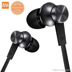 Original Mi Xiaomi Piston 3 Fone de ouvido preto Auscultadores In-Ear com microfone para telefone