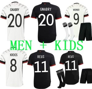 남성과 KIDS 독일 2020 축구 유니폼은 홈 원정 HUMMELS KROOS 드락 슬러 레 우스 MULLER GOTZE KIMMICH 축구 셔츠 유니폼 키트