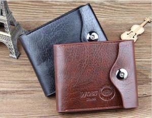 Designer-New Bifold Wallet Véritable carte de crédit / ID cuir Porte-Slim Porte-cadeau