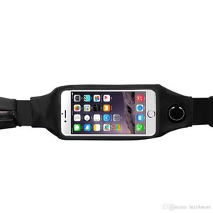 htzyh Toptan-Spor Koşu Koşu Spor Tırmanma Dokunmatik Ekran Cep telefonu Çanta Kese Para Kemer Bel Kadın Erkek Paketi # SP-D005