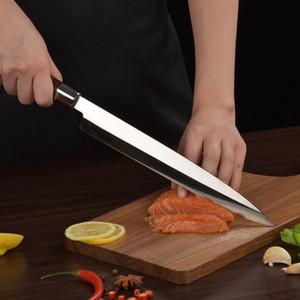 Utral Sharp 9,5 дюйма 240 ммЯнагиба нож японские суши сашими ножи из дерева венге ручка