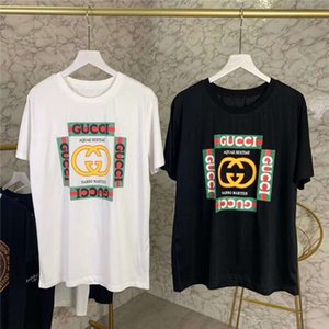 2020 Summer New brand designer mens designer t shirts Many valen̴tino arm̴ani small bees embroidery casual Short Sleeve T Shirts