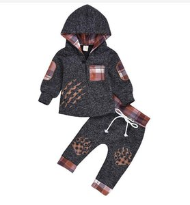 2020 New Boys Sets Girls Letter Football Baseball Tracksuit 2pcs Sport Suits Set(jacket Pant)kids Outfits Baby Tracksuits Childrens Clothes