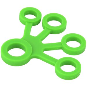 2 Pieces Finger Puller-Silicone Finger Puller Exercise Fitness Toy Five-Finger Rehabilitation Trainer Tool