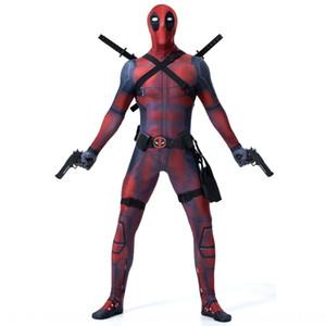 N2zco Cosplay Deadpool zentai Avengers stalemate Halloween printed tights 8505 Cosplay Deadpool zentai Avengers stalemate Halloween Tight pa