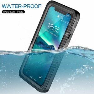 "Case Waterproof Original Ip68 For Iphone Xr Shock Dirt Snow Proof Protection With Touch Id For Iphone Xr 6.1"" Case Cover Skin Z310"