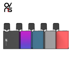 Authentic OVNS JC01 Pro Kit 400mAh VV Box Mod With 1.0ml Pod Empty Cartridge For Thick Oil Ceramic Coil Tank E Cigarette