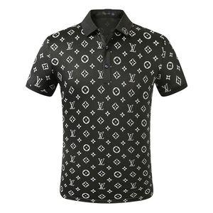 2019 New Medusa Polo shirt Casual sleeve Mens Fashion Polos shirt Clothes Short Shirts Italy Designer polo shirts printing Casual t shirt
