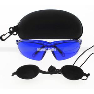 Mehrfachauswahl OPT / E Lampe / IPL / Photon Schönheitsinstrument Schutzbrille rote Laserschutzbrille 340-1250nm breite Absorption