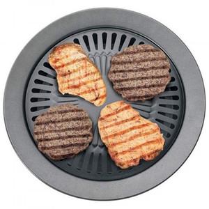 Chefmaster sem fumaça Stovetop Grill Churrasco Built-in ferramenta de cozinha forno grill