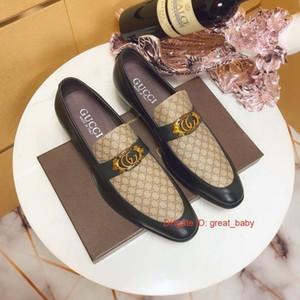 Top Italien Mitarbeiter von Oxford Männern formale Schuhe Kleid aus echtem Leder 071101