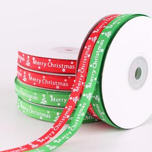 Caja de regalo de Navidad Cinta de embalaje Decoraciones navideñas para el hogar Cinta de regalo Favores de Navidad para Invitado Año Nuevo