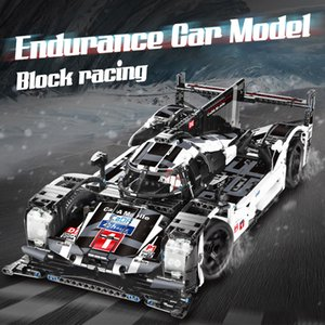 cada 1589PCS RC non-RC Endurance racing Car Building Blocks For Technic MOC Model Remote Control vehicle Toys for kids