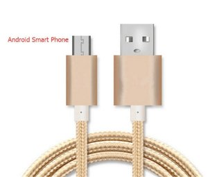 1M 빠른 충전 케이블 최고의 품질 데이터 동기화 USB 케이블 꼰된 케이블 안 드 로이드 전화 charing 코드 빠른 충전