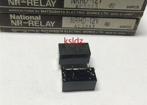 무료 배송 로트 (1 piece / lot) 100 % Original New MATSUSHITA NR-HD-12V NRHD-12V 7PINS 12VDC 파워 릴레이