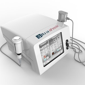Extracorporeal shock wave therapy equipment 2 in 1 ultrasound wave shock wave machine for better physiotherapy