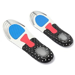 Men Gel Orthotic Sport Running Insole Insert Shoe Pad Arch Support Cushion, For Men(250mm-285mm)