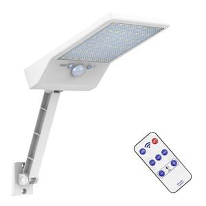 2020 new led solar lights outdoor waterproof Solar Lamp Motion Sensor Wall Light Street Garden Security remote spotlight