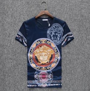 2020 Primavera-Verão Luxo Designers Medusa Camisetas masculinas casuais de algodão T shirts da moda Impresso T-shirt Homens Streetwear Hip Hop Tops Tee
