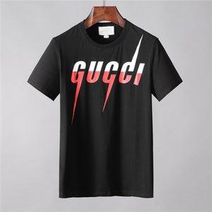 2020 Neuen Ankunfts-Sommer-Entwerfer-Männer-T-shirt Hip Hop court Hülsen-dünne T-shirts Hauts T-shirts Art und Weise Medusa beiläufige Mann-T-Shi