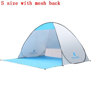 KEUMER Beach Tent Anti UV Sun Shelter Outdoor Shading Automático Instant Pop-up Carpa para Camping Pesca Senderismo Picnic
