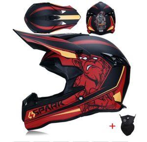 Adulto bicicleta motocross Off Road Helmet ATV Dirt Bike Downhill MTB DH corridas capacete capacetes capacete cruz