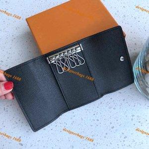 Key Purse Damier canvas top quality Key Pouch famous classic designer women Multicolor coin purse leather women men card holder short wallet