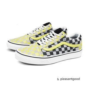 Warm War Disease Vance Classic Series Old Skool Skate Shoes Checkerboard Grid