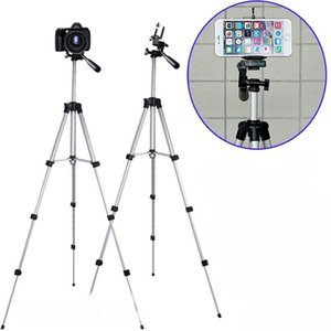 Neue Stative Handy Stativ Aluminiumlegierung Nachtfischen Licht Teleskop-Kamera-Stativ Fotografie Universalmikro Einzel Bracket Selfie