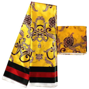 Wholesale Imitated Silk Fabric African Print Fabric African Fabric Best Quality Nigerian Ankara Fabrics African Wax Prints