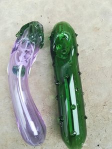 Lustige Pickle Aubergine Rohr Hand Tabakpfeifen beste Qualität Gurke Günstige Raucherzubehör Schönes Handrohr Drop-Shipping gemacht