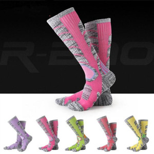 Bergsteigen Wandern Socken Winter Ski langen Schlauch Stocking warm halten Comfort Handtuch Socken Fashion Outdoor Sport Breath Elite Socken C818