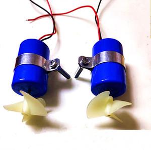 RC 제트 보트 수중 모터 스러 스터 DIV 마이크로 ROV 로봇 RC 베이트 보트 부품에 대한 7.4V 16800RPM CW CCW 3 블레이드 프로펠러