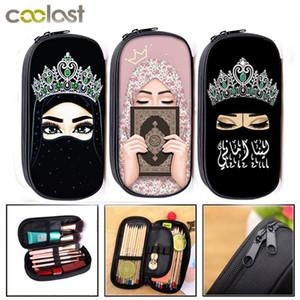 100% Brand New Eyes Gril casos cosméticos niñas del lápiz de maquillaje de las mujeres del bolso del lápiz de los niños del bolso de escuela fuentes del regalo